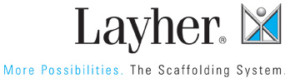 Layher Logo, System scaffolding manufacturers