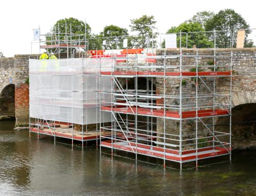 Bidford Bridge Scaffolding
