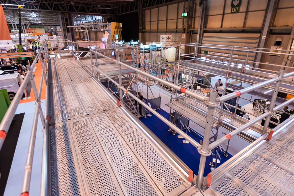 Birmingham NEC scaffolding - event scaffolding