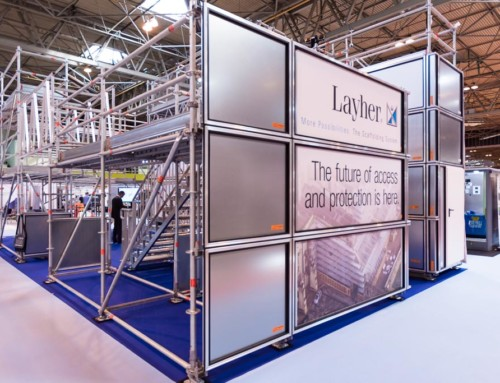 Layher @ Birmingham NEC – UK Construction Week