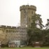 Scaffolding Guy's Tower at Warwick Castle