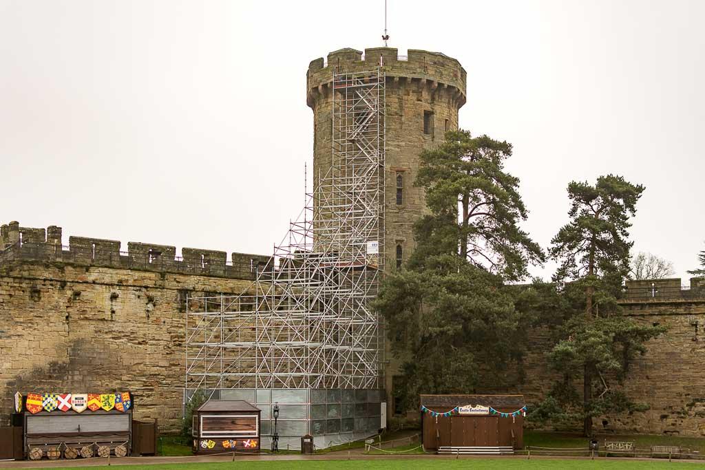 Scaffolding contractor in Warwick, scaffolding Warwick Castle